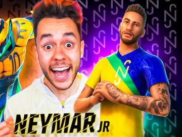TheGrefg reacciona a la skin de Neymar
