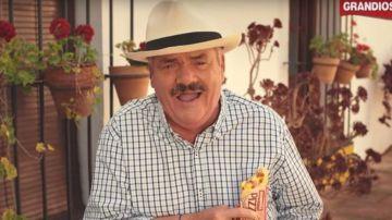 Juan Joya, en un anuncio de pizzas finlandés
