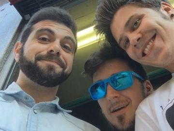 Vegetta, Mangel y Rubius, en un E3
