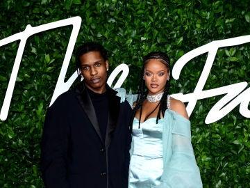 ASAP y Rihanna en 2019