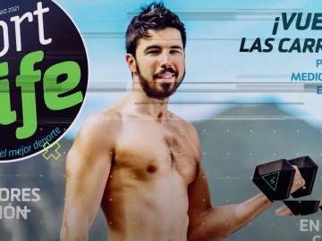 Willy en la portada de Sport Life