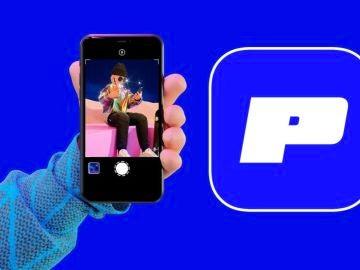 El logotipo de Poparazzi