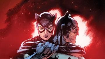 Catwoman y Batman tienen sus más y sus menos