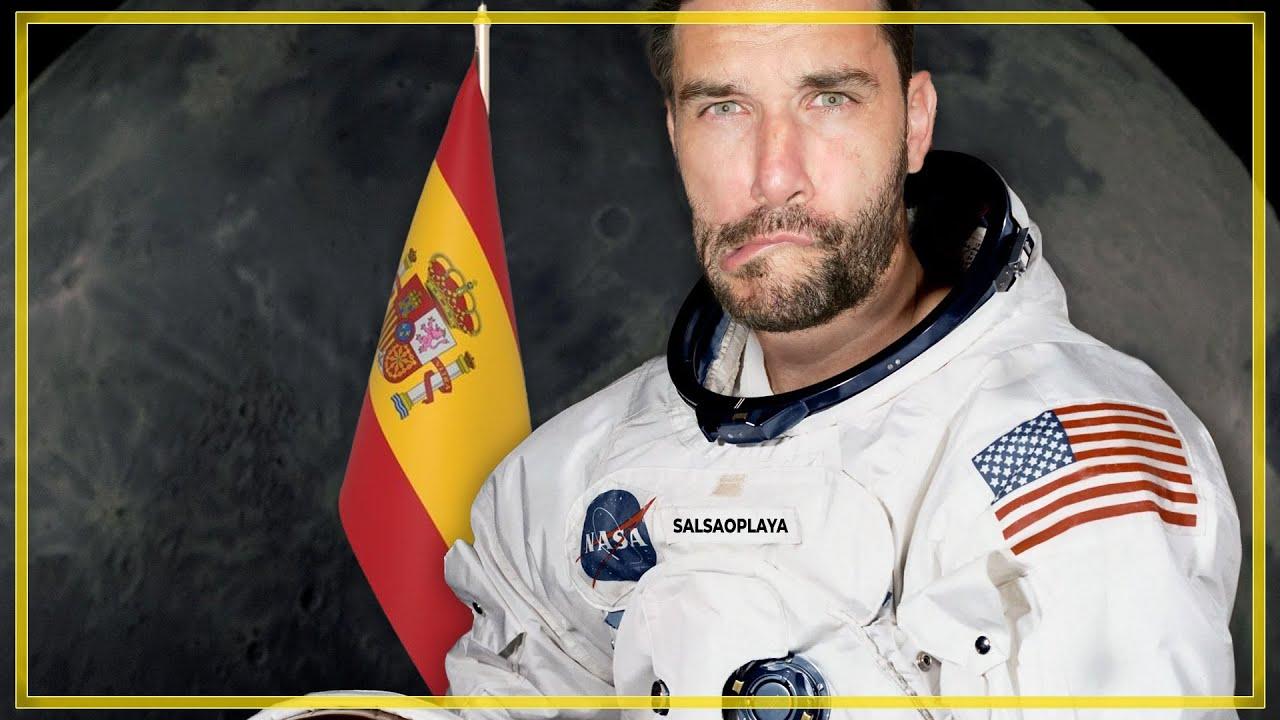 Javier Santaolalla, fantaseando con ser astronauta