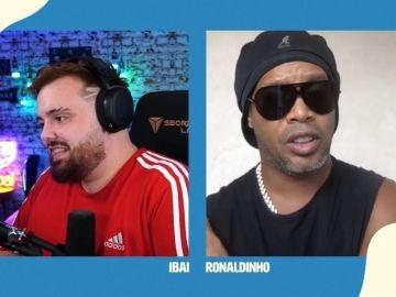 La charla entre Ronaldinho y el vasco dio mucho de sí
