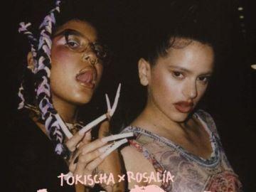 Tokischa y Rosalía, en una imagen promocional