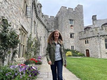 Leonor de Borbón en el UWC de Gales