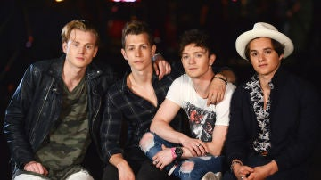La banda británica The Vamps