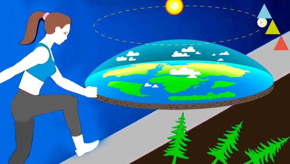 ¿Cómo sería vivir en una tierra plana?