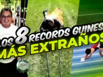 LOS 8 RECORD GUINNESS MAS EXTRAÑOS DEL MUNDO