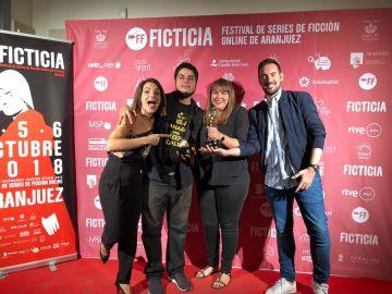 'Buster' consigue dos premios en el Festival Ficticia 2018 a mejor serie independiente y mejor guion