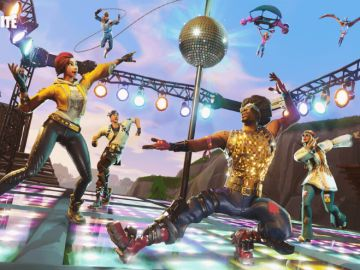 Los bailes, una parte integral de Fortnite