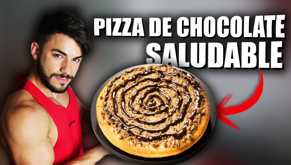 Flooxer | SQUAD - Receta pizza de chocolate fitness saludable y rápida | Ya Corbacho