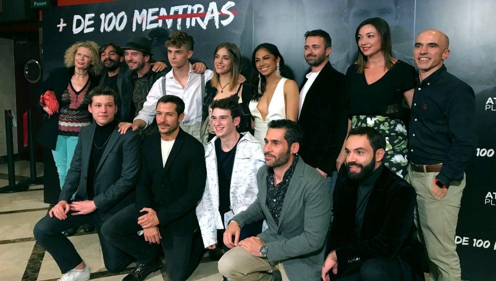 Así ha sido la Premiere en Madrid 'Más de 100 Mentiras', la nueva serie original de Flooxer