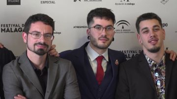 Presentación de 'Vosotros sois mi película' en el Festival de Málaga