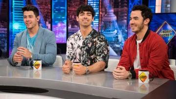 El lado más romántico de los Jonas Brothers: hablan de las mujeres de su vida en 'El Hormiguero 3.0'