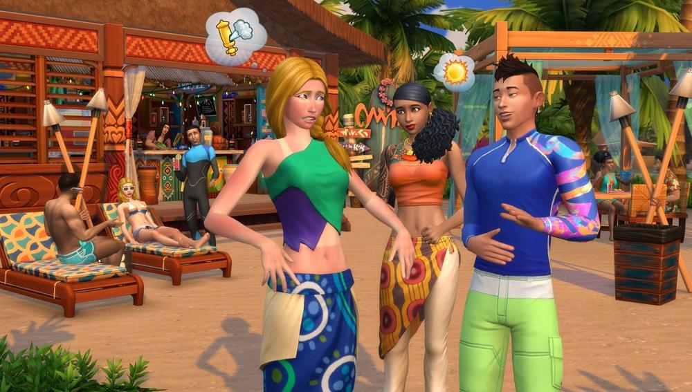Los Sims 4: Vida Isleña