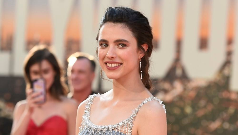 Margaret Qualley en la premiere de 'Érase una vez en Hollywood'