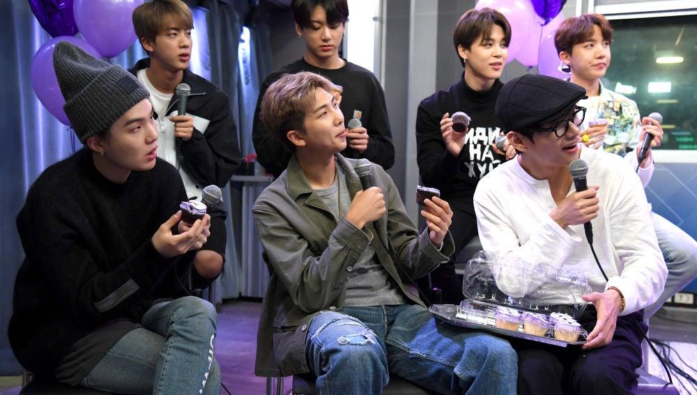 BTS en programa de radio