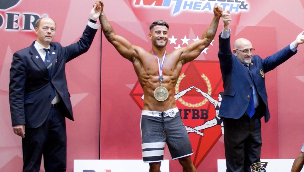 Juanma Izquierdo en una competición