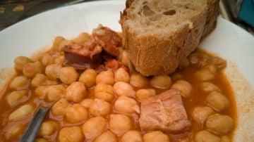 Un cocido ha causado cierta polémica en Instagram
