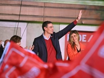 El líder del PSOE Pedro Sánchez