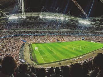 Estadio de fútbol (Archivo)
