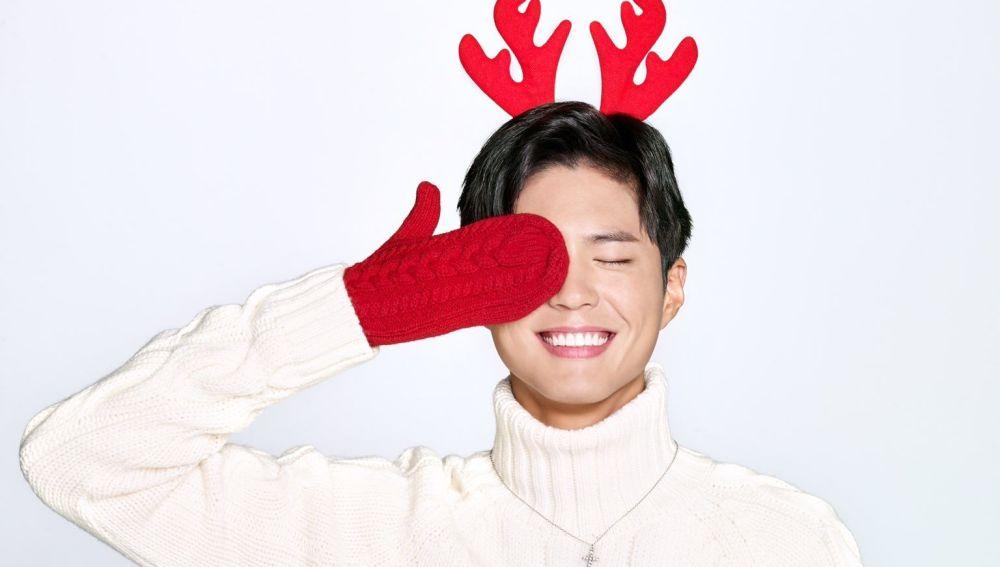 Park Bo Gum en su felicitación navideña