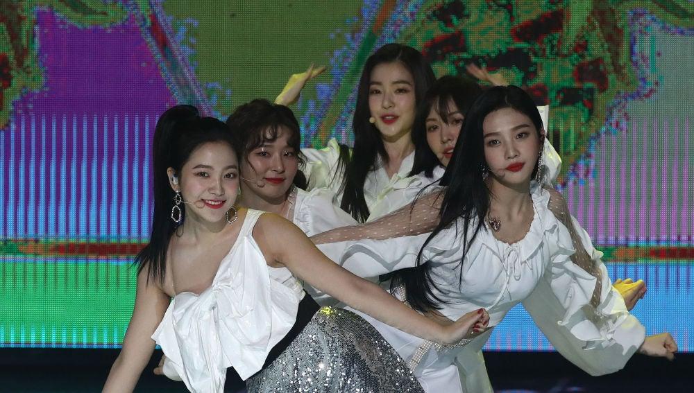 Red Velvet en concierto