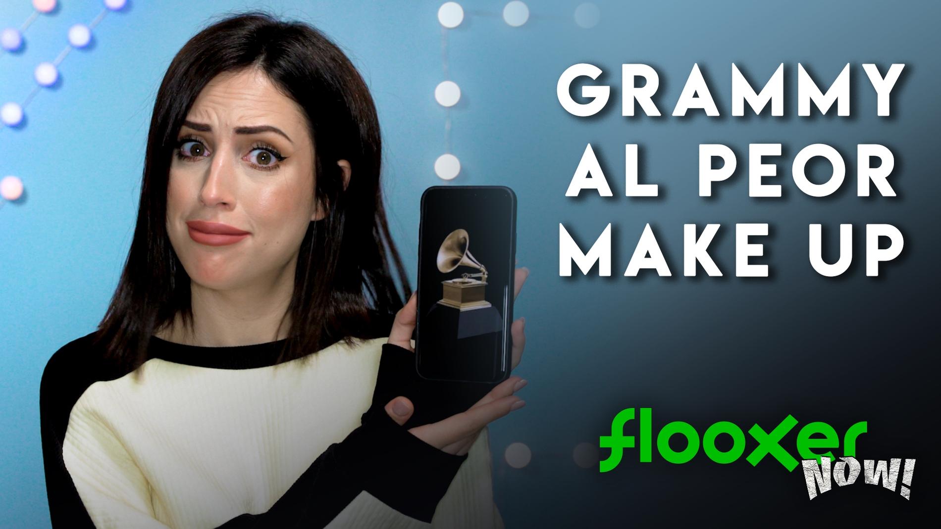 Los peores maquillajes de los Grammy