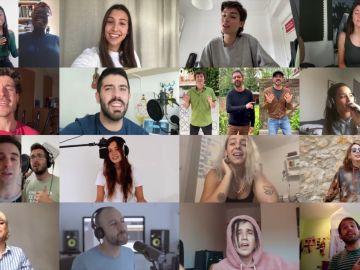 Miki Nuñez lanza una versión benéfica de 'Escriurem'