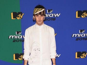 Kidd Keo en los premios MTV miaw de 2019