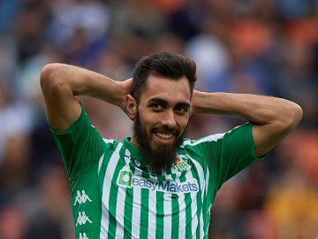 Borja Iglesias, jugador del Betis