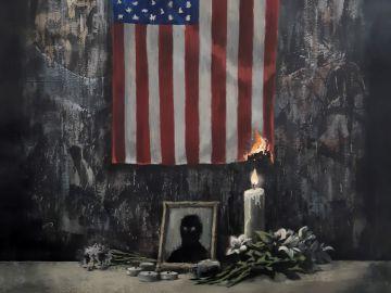 La última obra del grafitero Banksy