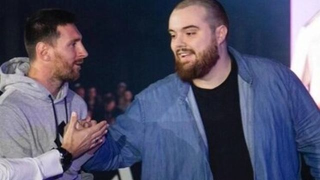 El polémico saludo entre Ibai y Messi