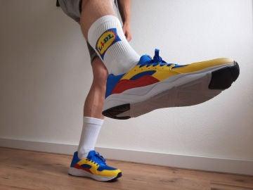 Las zapatillas (y calcetines) Lidl