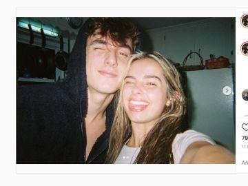 Bryce Hall y Addison Rae, en una foto de enero de 2020