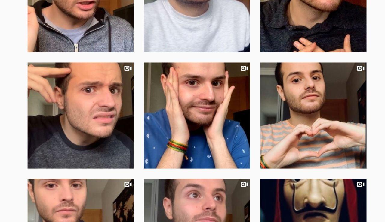 Gersanc no ha parado de subir vídeos durante la cuarentena