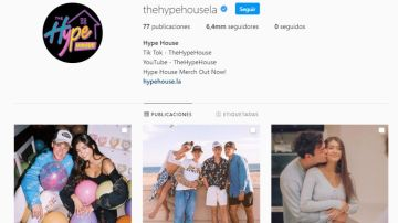 Perfil oficial de The Hype House