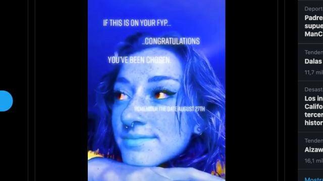 Un fotograma del misterioso vídeo 'profético'