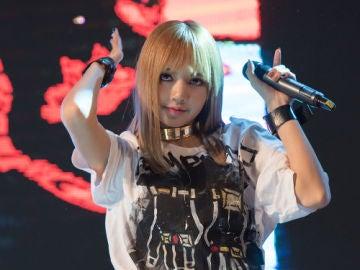 Lisa, cantante de BLACKPINK