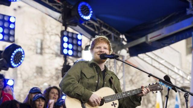 Ed Sheeran en Nueva York