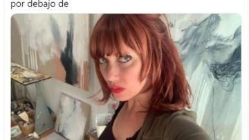 Paula Bonet ha denunciado en redes sociales el acoso continuo que está sufriendo por parte de un desconocido