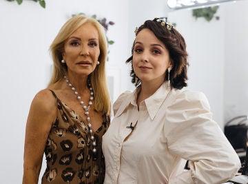 Carmen Lomana y Sindy Takanashi