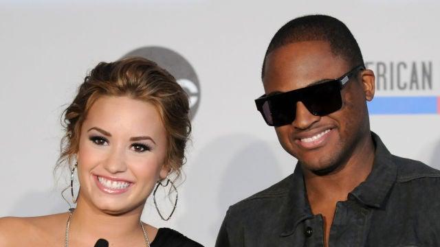 Taio Cruz junto a Demi Lovato