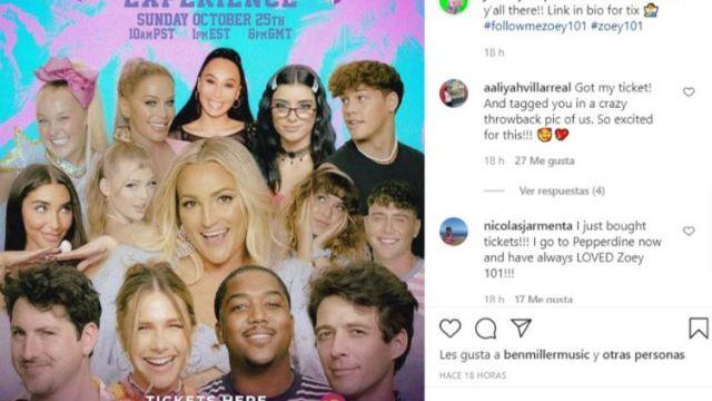 Dixie D'Amelio y Noah Beck formarán parte del regreso de 'Zoey 101'