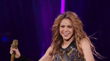 Shakira durante un concierto