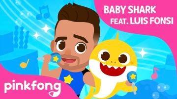 Luis Fonsi y Baby Shark, los reyes de YouTube