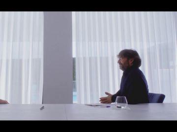 Jordi Évole en su entrevista con Leo Messi