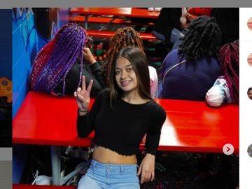 Dee, en una foto de enero de 2021